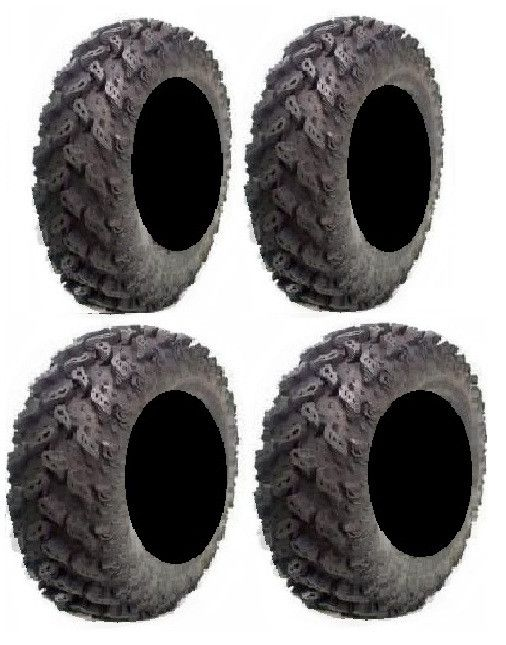 full set of interco reptile radial 26x10 14 and 26x12 14 atv tires 4