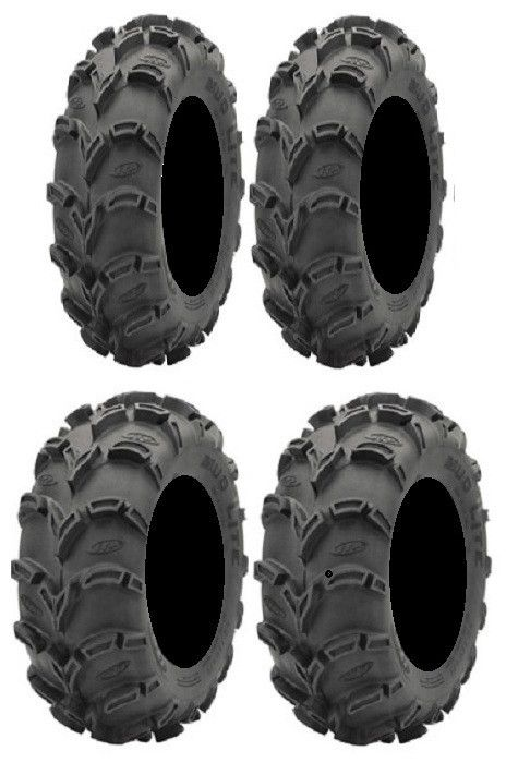 Full Set Of Itp Mud Lite Xl 26x10 12 And 26x12 12 Atv Tires 4