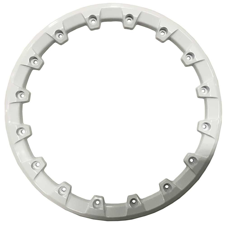 """STI 14"""" HD5 Beadlock Ring - White [14HB5R13]"""