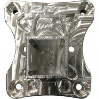 ZRP Billet Radius Rod Plate w/ Receiver Hitch Can-Am Maverick X3 - Raw